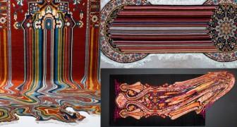 Un artista riesce a unire l'antica arte del tappeto con le nuove tecnologie: il risultato è ipnotico