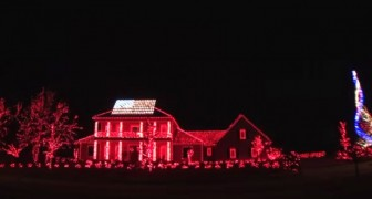 It starts with red lights on the house, but soon after the show will blow your mind