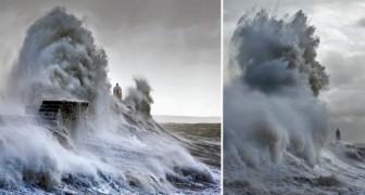 Deze fotograaf maakte 6 jaar lang foto's van de beangstigende golven die een Engelse vuurtoren teisteren