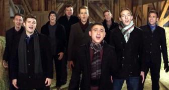 Cantam um clássico de Natal, mas com suas vozes angelicais criam uma verdadeira magia!