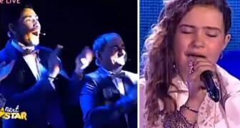 Ein italienisches Mädchen singt I will always love you... Was für eine Stimme