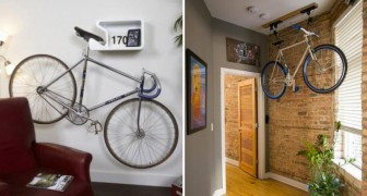 16 Möglichkeiten dein Fahrrad auf brillante Art und Weise im Haus aufzubewahren