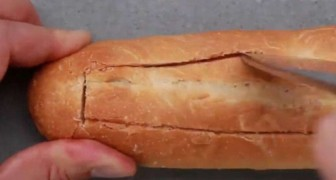 Cut a baguette and add simple tasty ingredients : the result will make you go crazy!