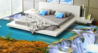 Questi pavimenti in 3D trasformanoogni ambiente della casa in un angolo di paradiso