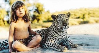 La storia della bambina che ha vissuto 10 anni con gli animali selvatici africani