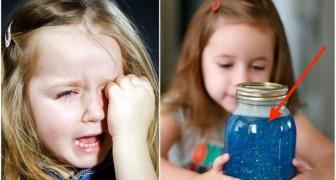 Il barattolo della calma: scoprite la tecnica che sta aiutando i genitori di tutto il mondo