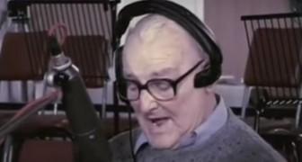 En gammal man sjung en gammal rocklåt.. men han kommer inte att vara den enda som sjunger!