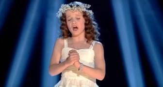 Una bambina di 9 anni esibisce la sua voce strepitosa: l'Ave Maria è da brivido!
