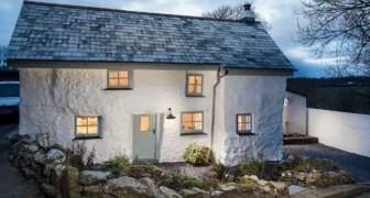 Dieses Haus ist über 300 Jahre alt und im Innern erwartet uns eine wunderbare Überraschung