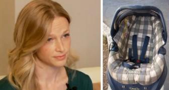 Non mettete MAI i vostri figli seduti in posizione eretta: questa donna ci spiega il perché