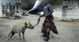 La losca banda di santoni che incanta la gente portando iene al guinzaglio