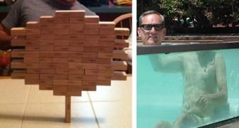 20 foto incredibili che vanno contro le leggi della fisica... O quasi!