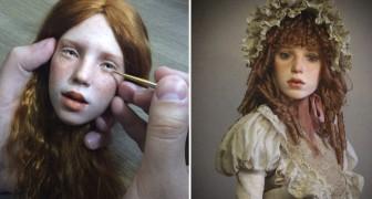 Un uomo crea bambole iper-realistiche che fanno rabbrividire chi le guarda