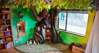 Elle voulait un arbre dans la chambre: ce que réalise son père dépasse toutes ses attentes
