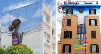 Voici les graffitis gigantesques, puissants et originaux qui colorent les villes du monde entier