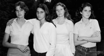 De fascinerende transformatie van 4 zussen die 40 jaar lang elk jaar samen op de foto gingen