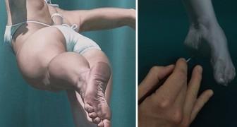 Sembra la foto di una nuotatrice, ma la realtà è ben più sorprendente