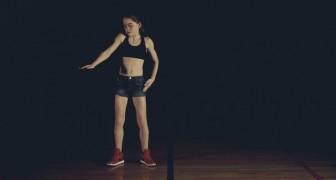 Sie hat Tanzen durch YouTube gelernt. Nach acht Monaten kann sie das