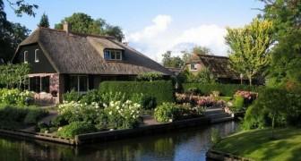 Es ist ein Dorf mit 2600 Einwohner, aber es gibt noch nichtmal eine Straße: Hier ist die Geschichte von Giethoorn