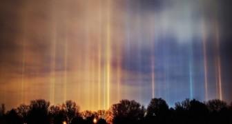 Ecco un raro fenomeno invernale che illumina il cielo in modo quasi soprannaturale