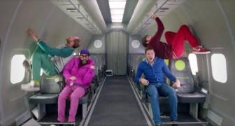 Quattro ragazzi siedono a bordo di un aereo... Ma il volo è tutt'altro che normale!