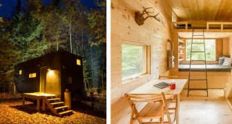 Case minuscole nascoste nel bosco: ecco come staccare dalla routine quotidiana