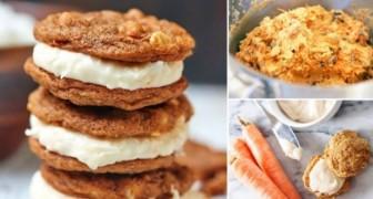 Biscotti farciti alla carota e cannella senza farina: uno snack per tutte le esigenze