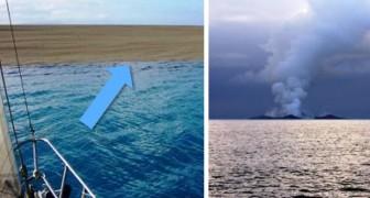 Ils trouvent une « plage » au beau milieu de l'océan : ce qui se passe est effrayant mais fascinant