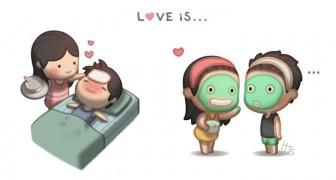 Une histoire de six ans racontée comme bande dessinée: un homme nous explique ce qu'est l'amour