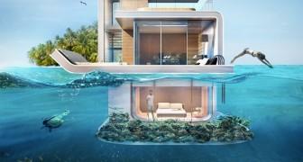 Vivere immersi nell'oceano: ecco l'ambizioso e lussuoso progetto delle case galleggianti