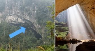 Een boer ontdekt zonder het te weten de grootste grot in de wereld: de binnenkant is prachtig