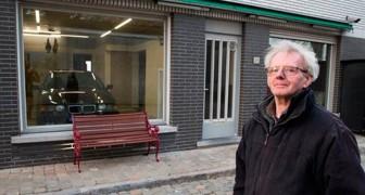 Die Gemeinde verbietet ihm, eine Garagentür zu bauen, aber er findet eine geniale Lösung