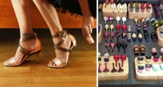 De droom van elke vrouw is werkelijkheid geworden: schoenen met verwisselbare hakken!