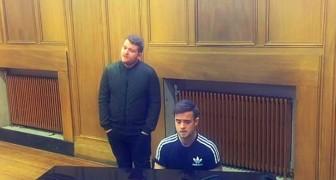 2 jongemannen en ene piano: hun ode aan de zangeres Adele is prachtig!