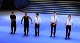 2 Tänzer begeistern das Publikum, aber sich die drei Iren dazugesellen, dann ist es der Wahnsinn