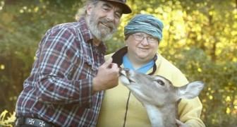 A couple save a blind deer -- but later the deer will return the favor in a special way!