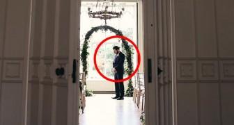Det ser ut som ett vanligt bröllop, med undantag för en hemsk detalj