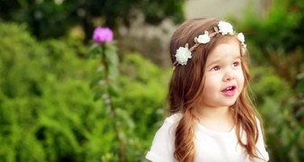 A little girl sings her grandmother's favorite song --- A sweet and touching performance!