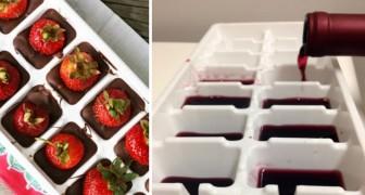 12 modi ingegnosi di usare la vaschetta del ghiaccio che avresti voluto conoscere prima
