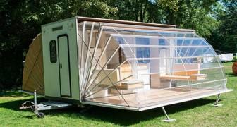 Questo caravan può sembrare strano, ma vedendo come è fatto ne vorrai uno anche tu