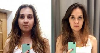 Une fille se prend en photos dans les cabines d'essayage de 10 magasins célèbres : trouvez les différences...