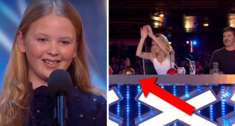 A shy 12-year-old girl gives a performance that transports the entire studio audience!