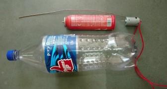 Como criar um aspirador de pó utilizando somente materiais recicláveis!