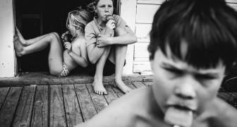 Sie hat ihre Kinder weitab jeder Technologie aufgezogen. Ihre Fotos regen zum Träumen an