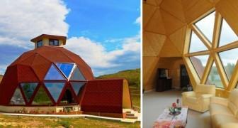 La cupola geodetica: un modello di casa alternativo ed economico. Ecco come funziona