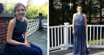 Un gruppo di ragazze indossa lo stesso vestito al ballo di fine anno: il loro gesto ha un valore immenso