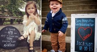 Ces enfants célèbrent leur adoption avec une photo: leurs sourires nous réchauffent le coeur