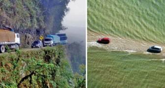 Vietato rilassarsi alla guida: ecco 7 strade tra le più pericolose del mondo