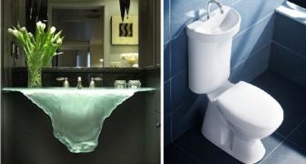 Beaux et pratiques: 28 lavabos que vous ne trouverez pas dans une maison quelconque