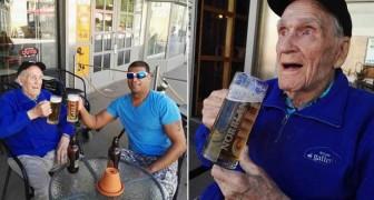 Un uomo di 93 anni aveva un piccolo e semplice desiderio: qualcuno ha deciso di ascoltarlo